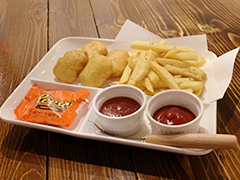 NUGGET 4PC KIDS MEAL